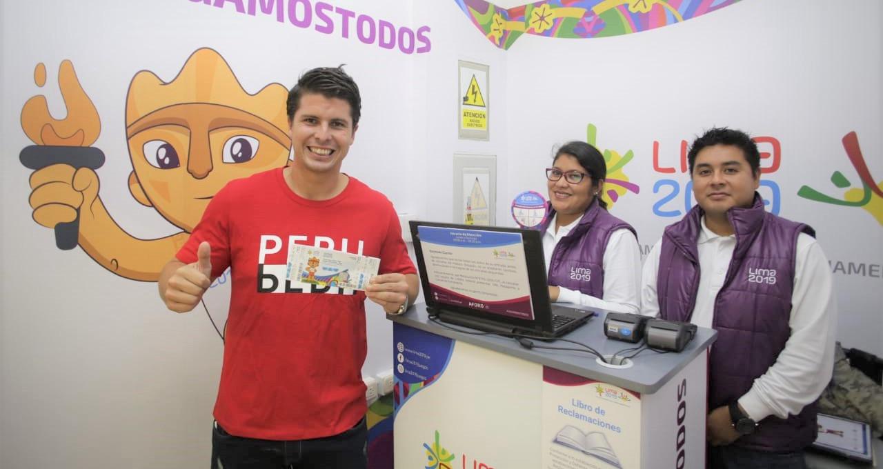 Más De 25 Mil Entradas Se Vendieron Para Los Juegos Lima