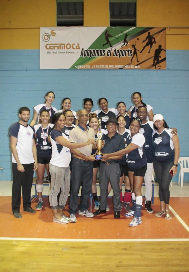 La Cancha campeon del Voleibol Femenino-1